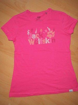 pinkes T-Shirt Jack Wolfskin