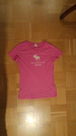 Pinkes T shirt von A&F