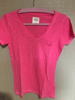 Pinkes T-Shirt von Hollister