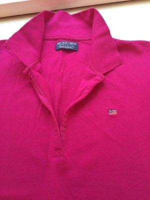 Pinkes T-Shirt von Polo Jeans Company, Größe M
