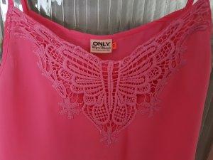 Pinkes Top in Größe 40
