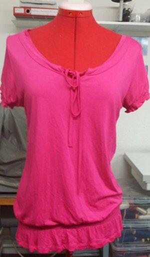 Boothalsshirt roze