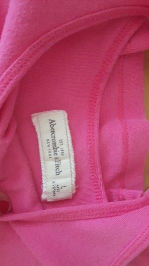 pinkes top von Abercrombie&Fitch
