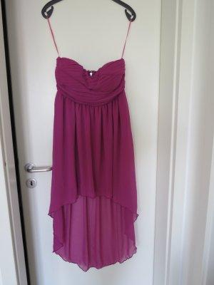 Pinkes, trägerloses Kleid von Vila