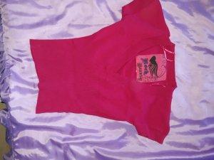 pinkes Westen-Shirt Überzieher 34
