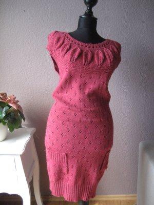 Pinkes Wollkleid von Only