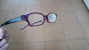 Glasses multicolored