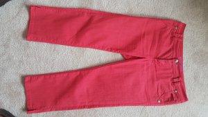7/8-jeans roze Gemengd weefsel