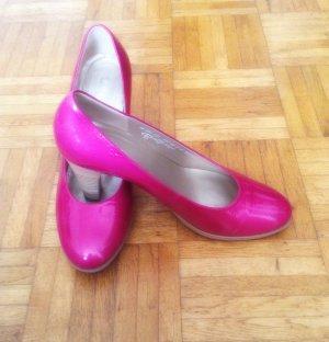 Pinkfarbene Lackpumps