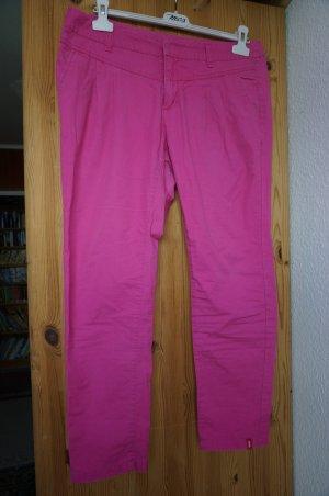 """Pinkfarbene leichte Chino-Hose """"Short"""" für kleinere Frauen:) Gr. 40-42"""
