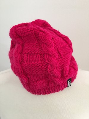 Nitro Knitted Hat magenta-pink