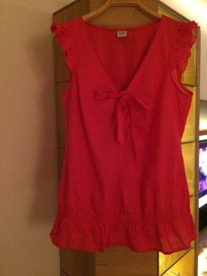 Pinkfarbene Tunikabluse von Esprit