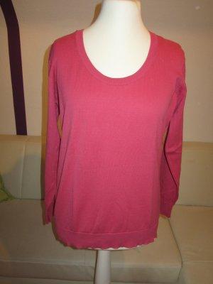 pinkfarbener Pullover Gr.44