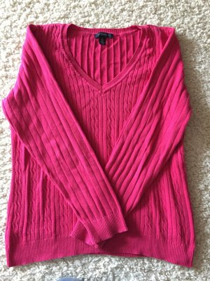 Pinkfarbener Pullover von Tommy Hilfiger in Größe XL