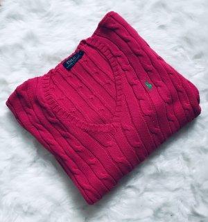 Pinkfarbener Ralph Lauren Pullover