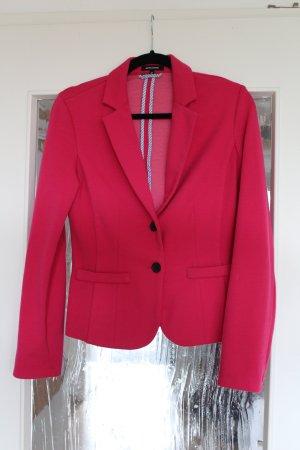 Pinkfarbener Stoff-Blazer von More&More