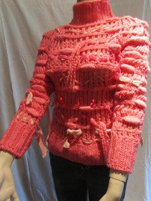 Pinkfarbener Strickpullover von Simona Barbieri -Twin Set