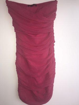 Pinkfarbenes Minikleid