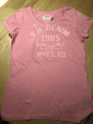 Pinkfarbenes Shirt von Hilfiger Denim