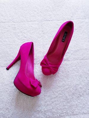 Jumex Tacco alto rosa