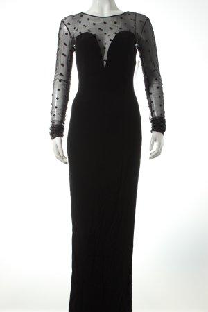 Pinko Abendkleid schwarz Eleganz-Look