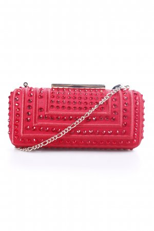 Pinko Clutch rot-goldfarben Eleganz-Look