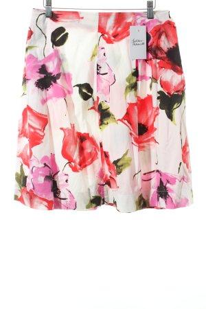 Pinko Faltenrock florales Muster klassischer Stil