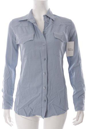 Pinko Hemd-Bluse kornblumenblau klassischer Stil
