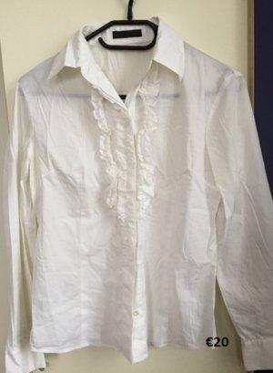 Pinko Long Sleeve Shirt white cotton