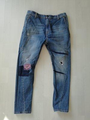 Pinko Jeans Boyfriend Tapered Denim