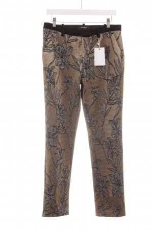 Pinko Peg Top Trousers floral pattern casual look