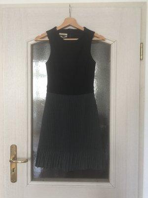 PINKO Kleid ausgestellt Plissee plissiert two-tone