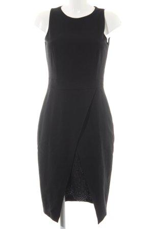 Pinko Kurzarmkleid schwarz Elegant