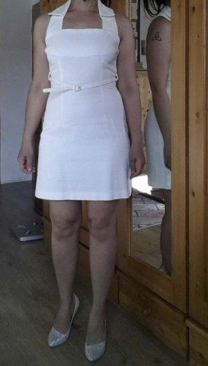 Pinko Kurzes Kleid Weiß