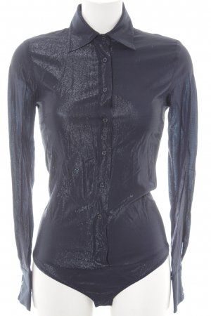 Pinko Langarmhemd dunkelblau Casual-Look