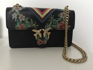 Pinko Love Bag schwarz bunt Muster