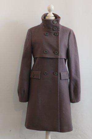 PINKO Mantel coat Gr. 36 taupe