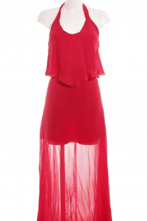 Pinko Maxikleid hellrot Beach-Look