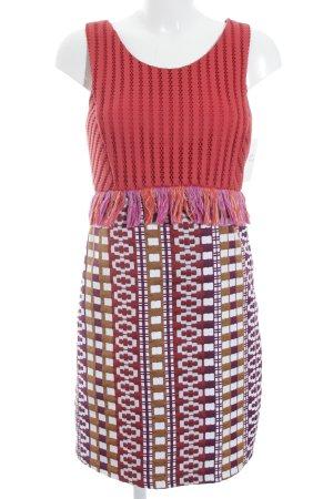 Pinko Minikleid mehrfarbig Ethno-Look