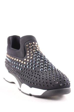Pinko Schlüpfsneaker schwarz-weiß extravaganter Stil