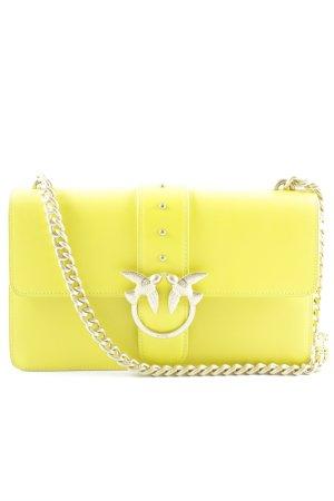 Pinko Schultertasche gelb Street-Fashion-Look