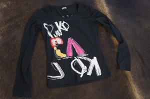 PINKO Shirt Größe S mit Glitzersteinen