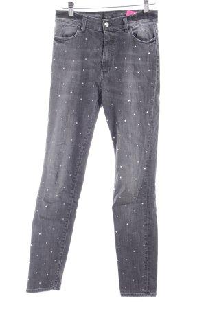 Pinko Skinny Jeans grau Casual-Look