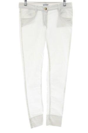 Pinko Skinny Jeans weiß schlichter Stil