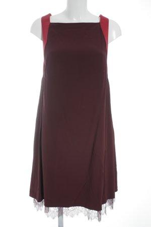 Pinko Spitzenkleid purpur-magenta Elegant