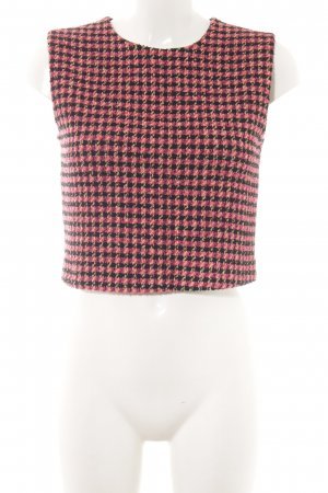 Pinko Camiseta estampado a cuadros estilo College