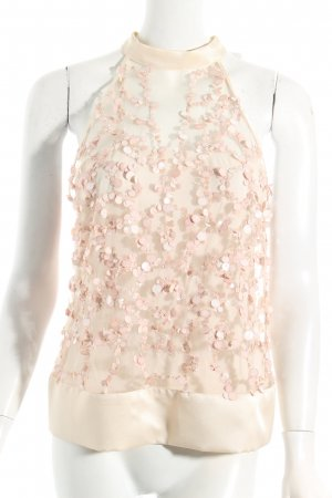 Pinko Top creme-rosé Party-Look