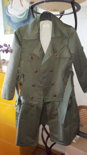 Pinko Cappotto stile pilota verde bosco-verde oliva