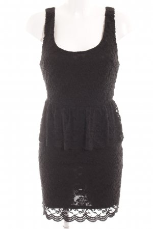 Pins and Needles Lace Dress black elegant