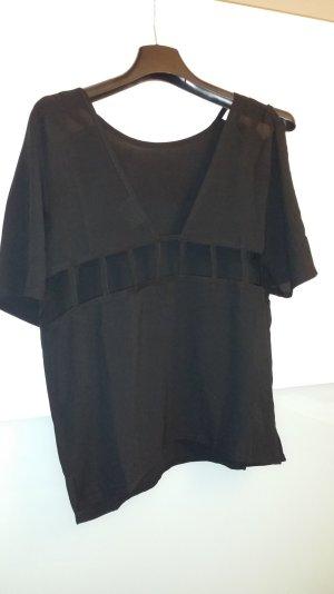 PINS& NEEDLES T-Shirt mit Cut-outs, schwarz, rocker style, oversized